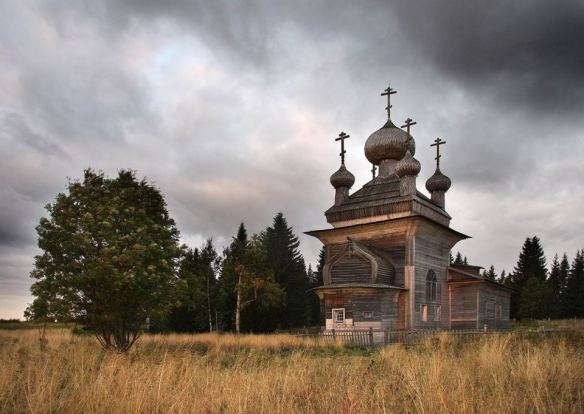 Northern Russia's vanishing wooden churches