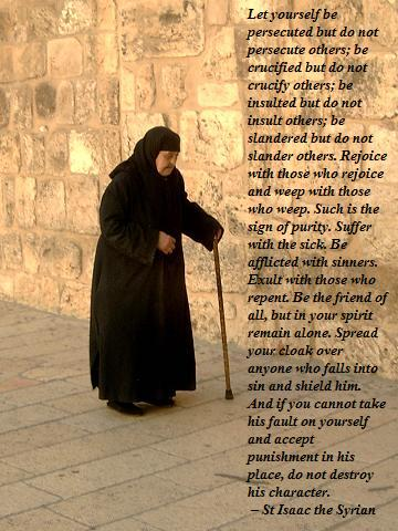 St Isaac the Syrian on the path to sanctity