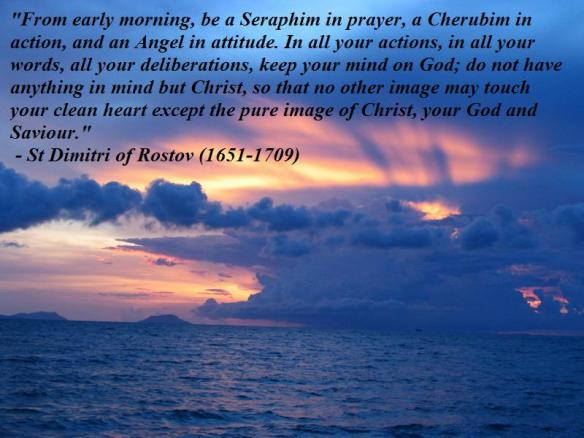 St Dimitri of Rostov on Prayer