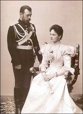 One of the official portraits of the young couple after their April 1894 engagement. Their marriage is one of history's greatest love stories.