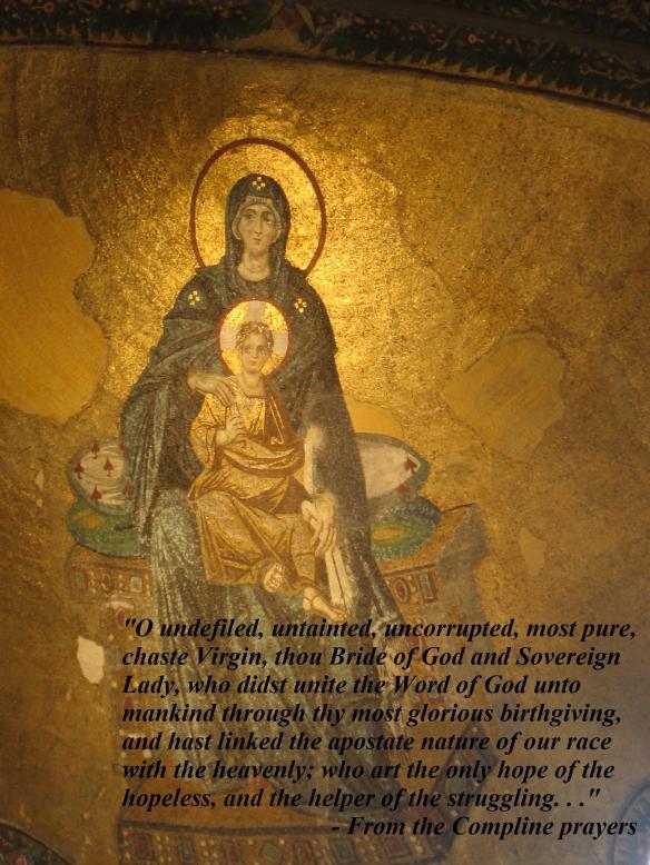 """O uncorrupted Virgin, thou Bride of God. . ."" dans immagini sacre"