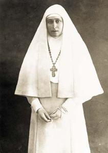Grand Duchess Elizabeth Feodorovna as a nun