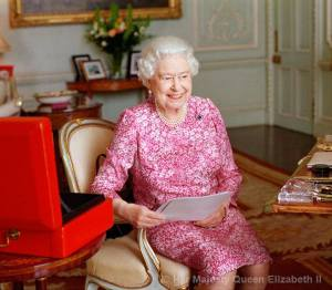 Photo courtesy of The British Monarchy Facebook page. This photograph of The Queen by the renowned British photographer Mary McCartney has been released to mark the moment Her Majesty becomes the longest reigning British Monarch, 9 September 2015.
