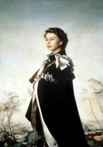 Pietro Annigoni - Queen Elizabeth II, 1954-5.