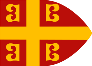 14th century Byzantine imperial flag.