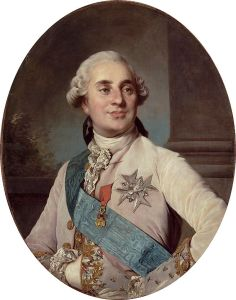 King Louis XVI of France (1755-1793) shown at the age of 20 in 1775, a year after ascending to the Throne.