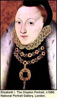 Elizabeth I Clopton portrait 1560