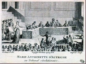 Trial of the Queen, October 14-16 1793.