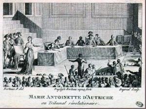 Trial of the Queen, October 14-16 1793.
