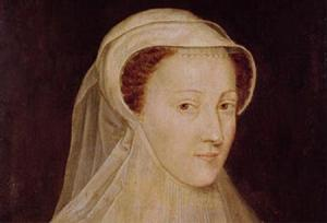 Mary, Queen of Scots painted around the age of 18 or 19 during her first widowhood (after Francis II of France's 1560 death).