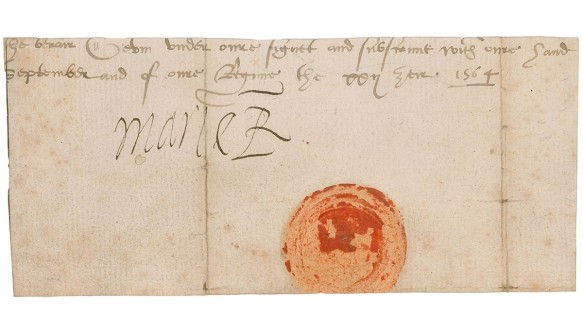 Mary Queen of Scots signature